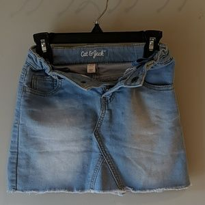 Car & Jack denim skirt
